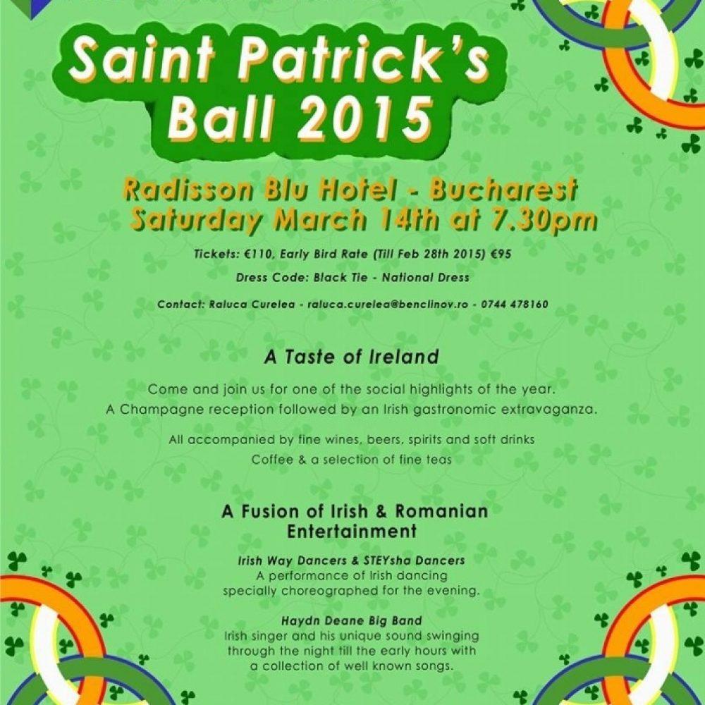 Saint Patrick's Ball 2015