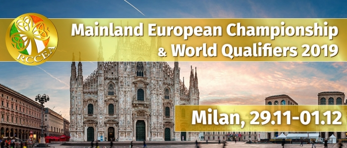 Mainland European Championship and World Qualifiers 2019