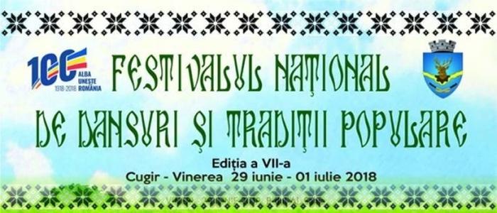 Festivalul Național de Dansuri și Tradiții Populare din Cugir - Vinerea.